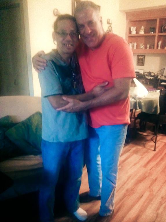 Edgardo Morales (RIP) & Angelucho, ( Grandes Amigos )