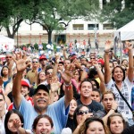 Cuban Festival Crowd
